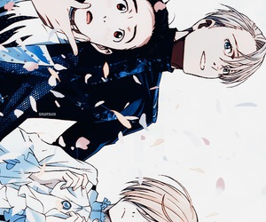 anime, yuri, and yuri!!! on ice image