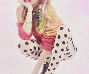 audrey kitching, fashion, and pink image