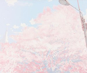 aesthetic, anime, and pink image