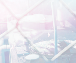 anime, pink, and 5 centimeters per second image