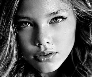 black, black&white, and girs image