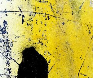 abstract art, yellow, and nenad bacanovic image