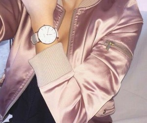 bomber, fashion, and jewelry image