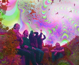 acid, psychedelic, and trip image