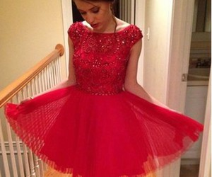 homecoming dress, red dress, and homecoming dresses image