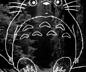 totoro, anime, and forest image