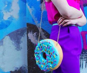 bag, donut, and donas image