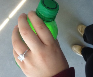 engaged, premed, and ring image