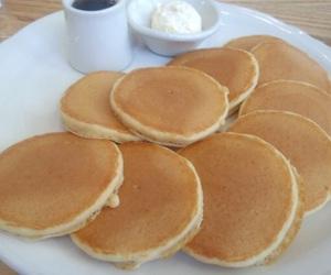 pancakes, food, and breakfast image
