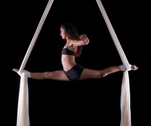 aerial, flexibility, and splits image