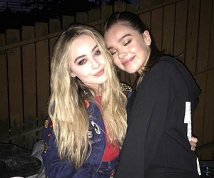 sabrina carpenter, hailee steinfeld, and girl meets world image