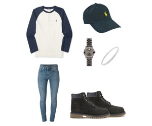 polo ralph lauren, movado, and timberlands image