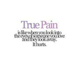 love, pain, and quote image