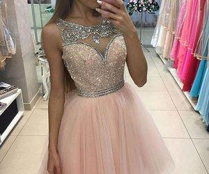 cute homecoming dresses, short homecoming dresses, and homecoming dresses pink image