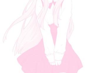 girl, manga, and pastel image