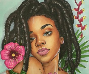 rihanna and art image