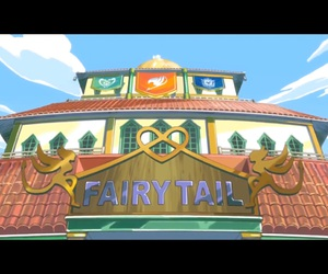anime, fairy tail, and fairy tail guild image