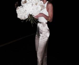dark, flowers, and luxury image