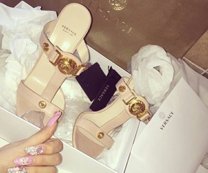 Versace, luxury, and heels image