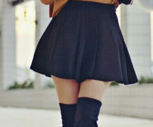 fashion, skirt, and hat image