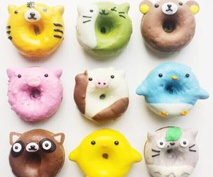 donuts, yummy, and doughnut image
