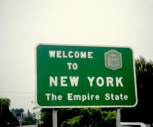 new york, sign, and welcome to new york image