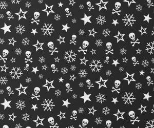 skull and snowflake image