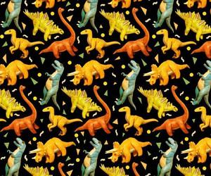 background, dinosaur, and pattern image