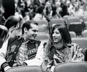 actor, actress, and Anjelica Huston image