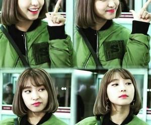 bora, green, and kpop image