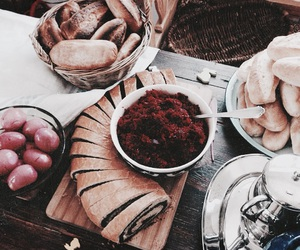 food, yummy, and bread image