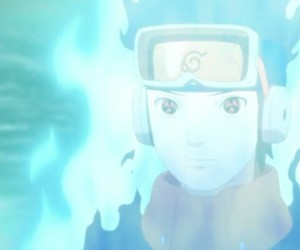 anime, obito, and blue image