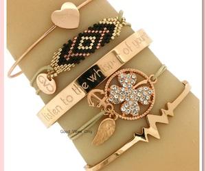 bangles, bracelets, and heartbeat image