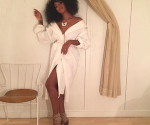 girl, hair, and solange image
