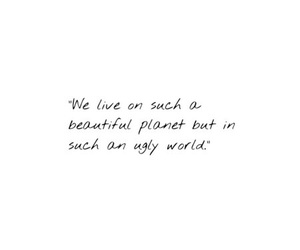 quote, life, and planet image