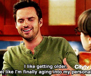 new girl, nick, and personality image