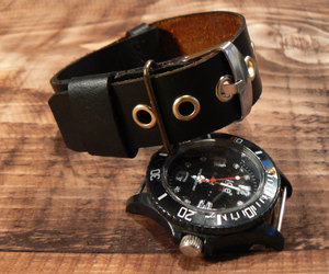 watch band, leather watch strap, and nato watch strap image