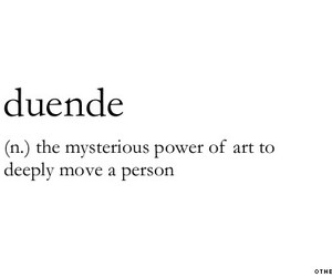quotes, art, and duende image