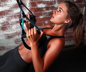 beautiful, model, and fitness image