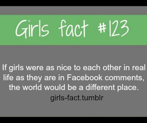 123, funny, and girls fact image