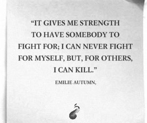 Emilie Autumn, fight, and quote image
