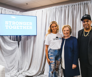 Hillary Clinton, beyoncé, and queen bey image