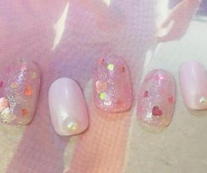 heart, ネイル, and nail image
