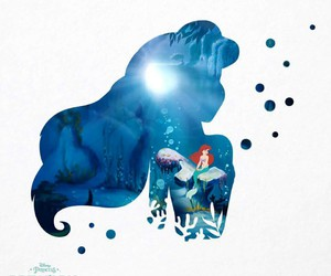 disney princess and the little mermaid image