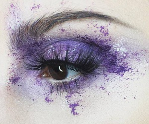 aesthetic, pretty, and purple image
