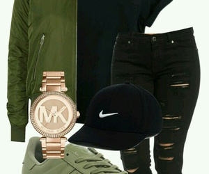 outfit, black jeans, and fashion image