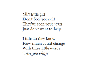 sad, quote, and scars image