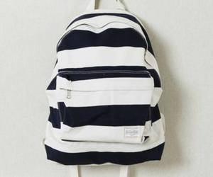 bag, style, and backpack image
