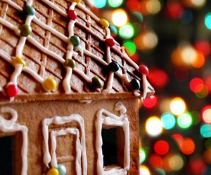 christmas, gingerbread house, and winter image