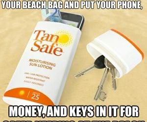beach, diy, and key image